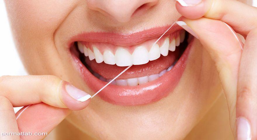 اهمیت نخ دندان