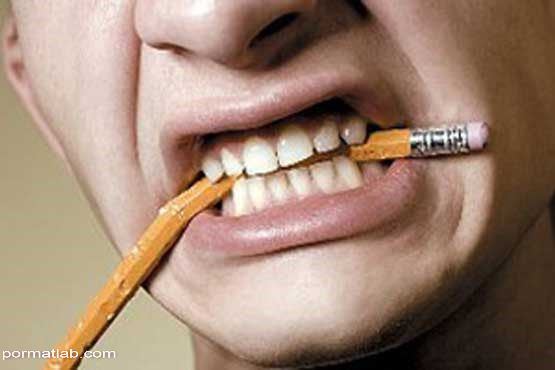 نقش استرس با دهان و دندان