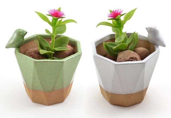 گلدانهای سفالی و مینیاتوری