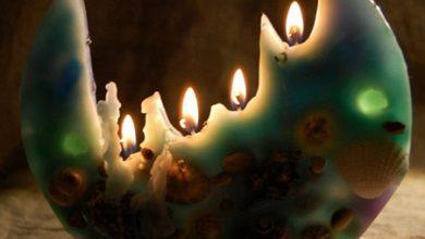 Photo of شمع تخت یا بشقابی