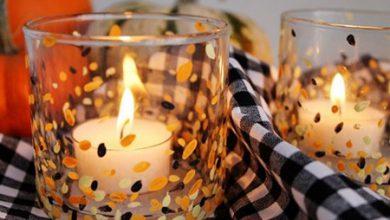Photo of ساخت جا شمعی با لیوان