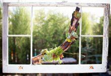Photo of دکوری چوبی با شاخه درخت