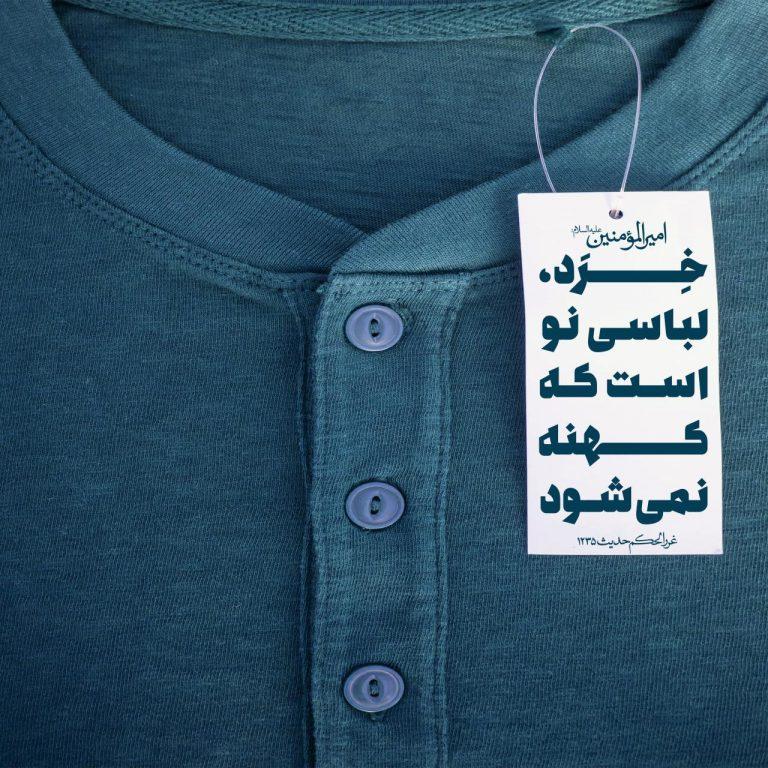 خرد ، لباسى نو است که کهنه نمى شود