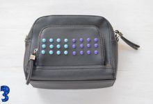 Photo of یک مدل ساده تزیین کیف با مهره های رنگی