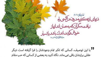 Photo of کم شدن خرد با هر ذره از تکبر