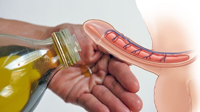 افزایش اندازه آلت تناسلی مردان با روغن خراطین
