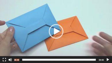 Photo of آموزش ساخت پاکت کاغذی به صورت اوریگامی + فیلم