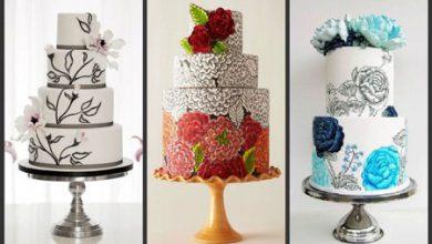 Photo of نمونه هایی زیبا از نقاشی روی کیک
