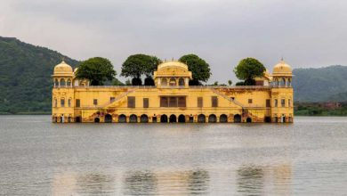 Photo of بنایی عجیب و فرو رفته در آب، کاخ جال محل در هند