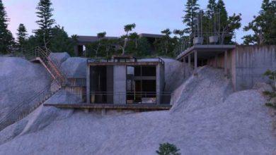 Photo of خانه سنگی در روسیه