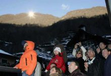 Photo of روستای که خورشید زمستان ها بر آن نمی تابد