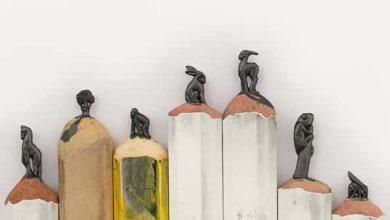 Photo of طراحی و خلق اثر روی نوک مداد