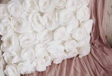 Photo of با گل های رز نمدی کوسن بسازید و آن را تزیین کنید