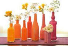 Photo of با بطریهای ساده گلدان بسازید