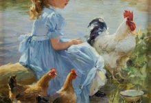 Photo of تصاویر نقاشی شده از مرغ و خروس شماره ۱