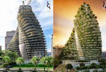 Photo of برج های دوقلو که هوای تازه میدهند