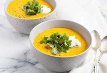 Photo of سوپ کدو حلوایی با شیر نارگیل