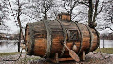 Photo of اولین زیردریایی جهان ساخته شده از یک بشکه چوبی