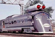Photo of اولین قطار سریع السیر با موتور جت