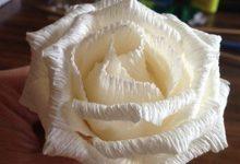 Photo of ساخت گل رز با کاغذ کشی