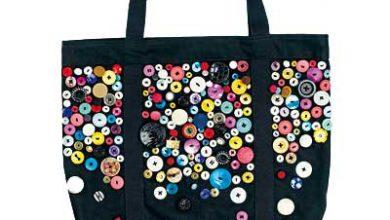 Photo of تزیین کیف دستی با دکمههای اضافی