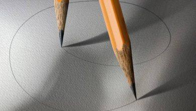 Photo of سوژه های خلاقانه ساده از مداد و کاغذ