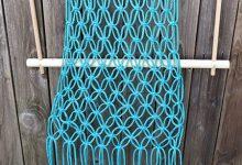 Photo of با گره زدنهای ساده یک تاب مکرومه بسازید