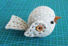 Photo of آموزش درست کردن پرنده کوچک با پارچه