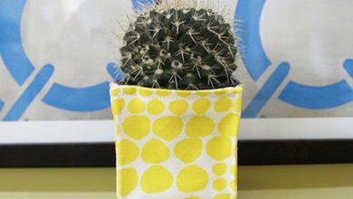 Photo of برای گلدان های مربعای خود کاور بدوزید