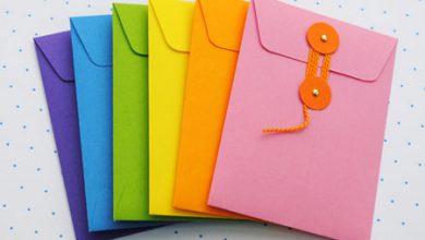 Photo of درست کردن پاکت نامه های رنگی و زیبا