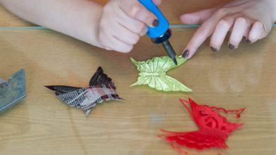 Photo of ساخت پروانه با هویه کاری