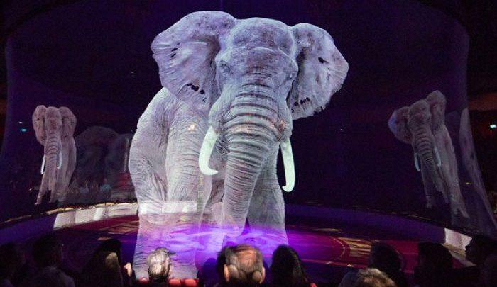 Photo of سیرکی با نمایش حیوانات مجازی