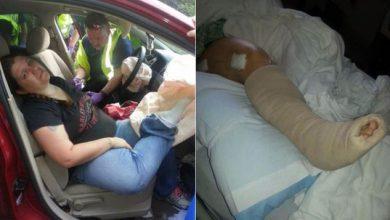 Photo of در هنگام رانندگی پای خود را روی داشبورد نگذارید!