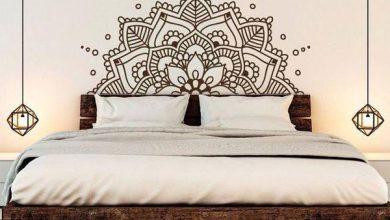Photo of نمونه استیکر دیواری مناسب اتاق خواب