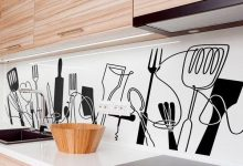 Photo of نمونه استیکر دیواری مناسب آشپزخانه