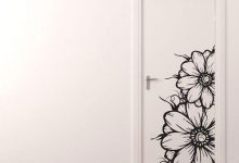 Photo of نمونه استیکر دیواری مناسب درب