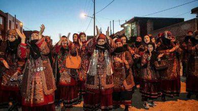 Photo of مراسم عروسی سنتی در لائین از توابع شهرستان کلات