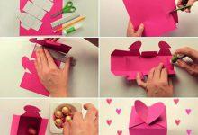 Photo of آموزش درست کردن جعبه کادوی قلبی