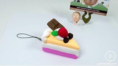 Photo of اسلایس کیک با خمیر فیمو