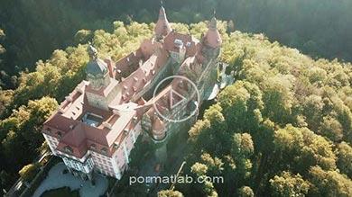 Photo of تصاویر زیبا و دیدنی از قلعه ksiaz در لهستان