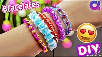 Photo of پنج مدل دستبند زیبا با کاموا و مهره