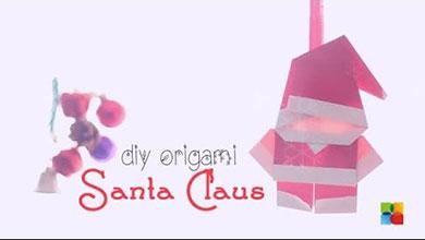 Photo of اوریگامی بابانوئل کاغذی