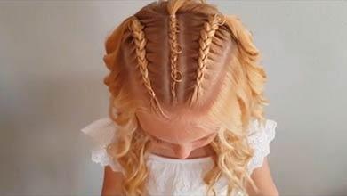 Photo of بافت موی دخترانه