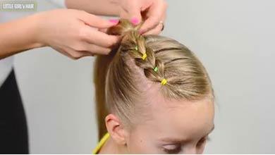 Photo of آموزش شینیون موی دخترانه