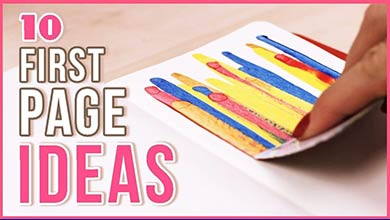 Photo of چند ایده جالب برای صفحه اول دفتر نقاشی