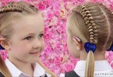 Photo of بافت دو طرفه موی سر برای دختر کوچولوها
