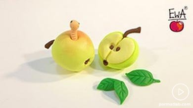 Photo of سیب زرد کرم خورده خمیری