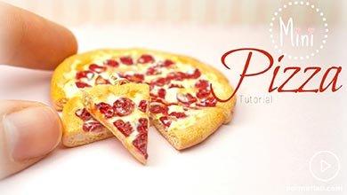 Photo of مینی پیتزا کودکانه با خمیر بازی