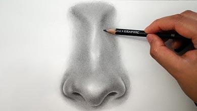 Photo of آموزش نقاشی بینی در طراحی چهره