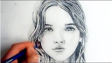 Photo of آموزش نقاشی چهره زنانه گام به گام